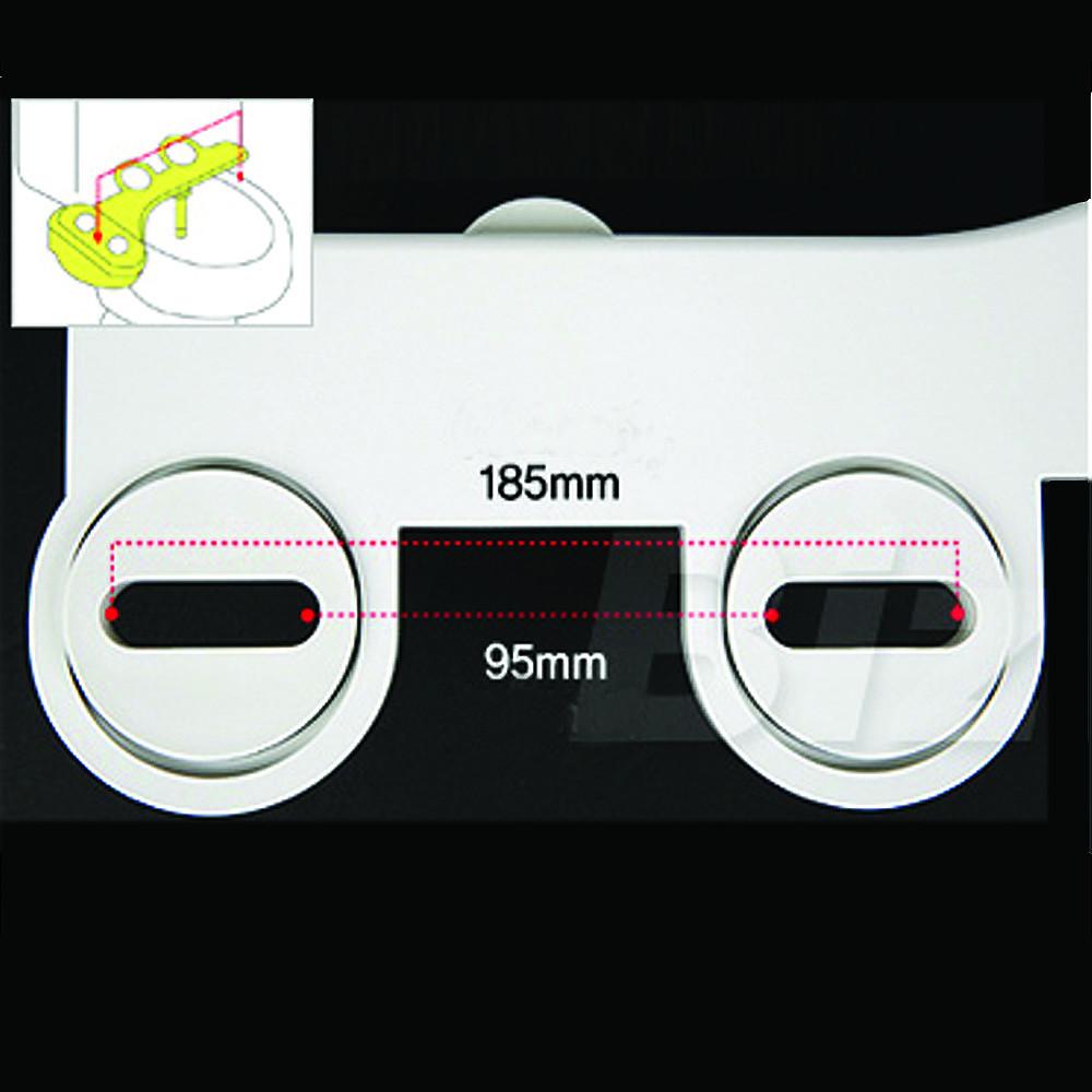 Биде-накладка СВ-201, установочные размеры